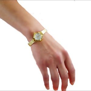 Accessories - Women's New Dainty Gold Face & Gold Band Watch